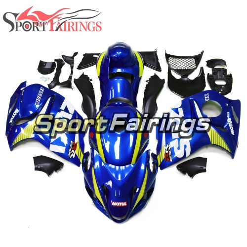 Fairing Kit Fit For Suzuki GSXR1300 Hayabusa 2008 - 2016 - Blue Yellow