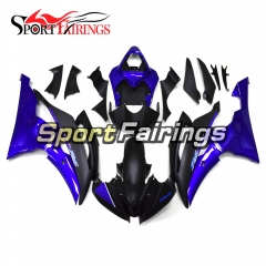 Fairing Kit Fit For Yamaha YZF R6 2008 - 2016 - Blue Black
