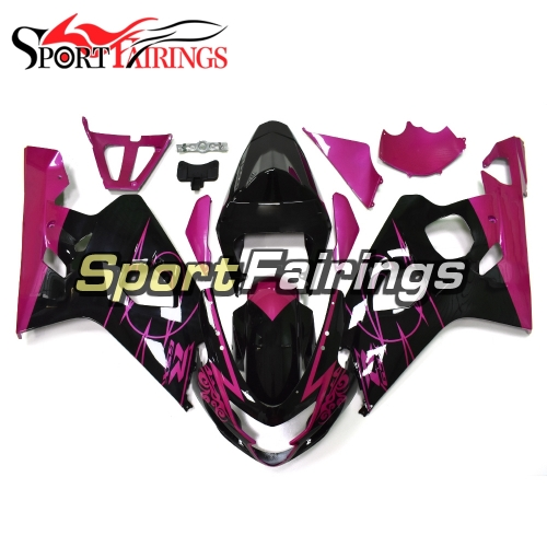 Fairing Kit Fit For Suzuki GSXR600 750 2004 - 2005 - Purple Black