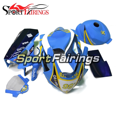 Fiberglass Racing Fairing Kit Fit For Suzuki GSXR1000 K5 2005 - 2006 - Blue