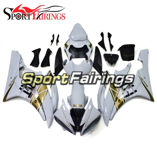 Fairing Kit Fit For Yamaha YZF R6 2006 2007 - White Gold