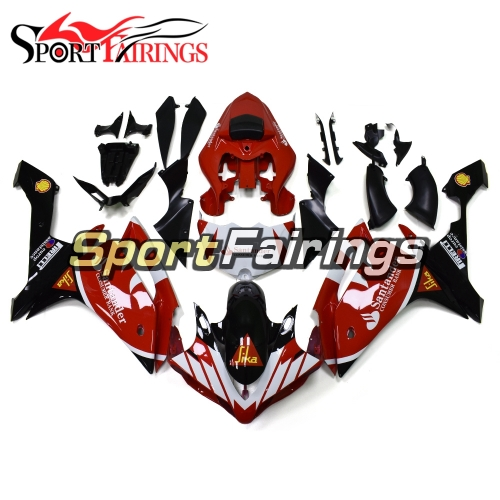 Fairing Kit Fit For Yamaha YZF R1 2007 2008 - Red Black