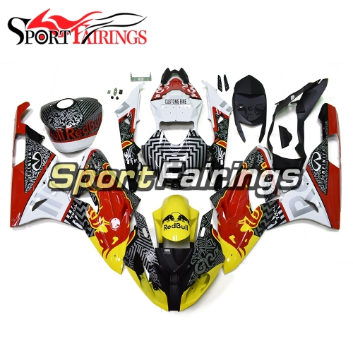 Fairing Kit Fit For BMW S1000RR 2015 2016 - Yellow Red Grey