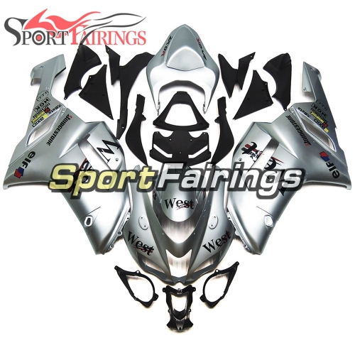 Fairing Kit Fit For Kawasaki ZX6R 2007 - 2008 - West Sliver