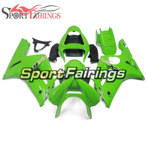 Fairing Kit Fit For Kawasaki ZX6R 2003-2004- Pearl Green