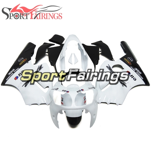Fairing Kit Fit For Kawasaki ZX12R 2000 2001 -White Black Elf