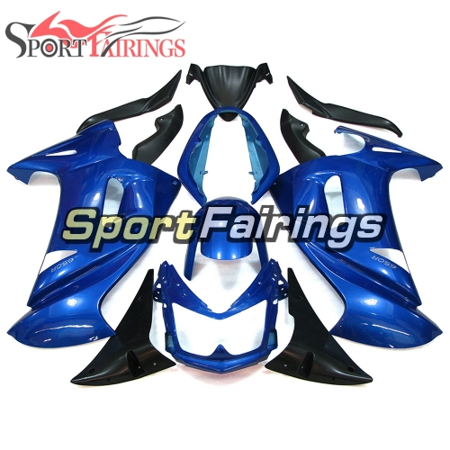 Fairing Kit Fit For Kawasaki ER-6F / Ninja 650r 2006 - 2008 -Blue