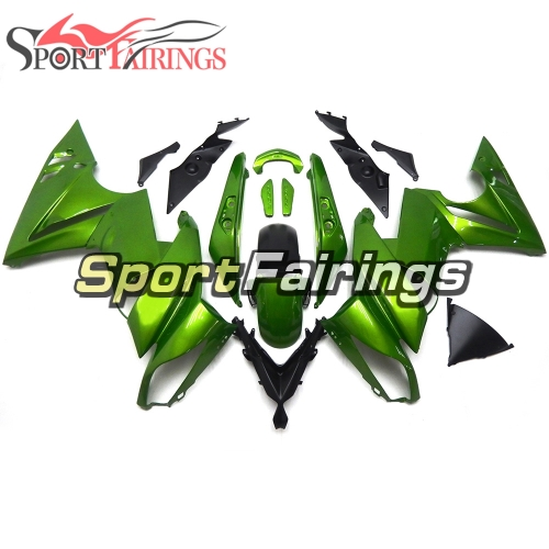 Fairing Kit Fit For Kawasaki ER-6F / Ninja 650r 2009 - 2011 - Green