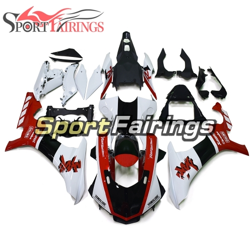Fairing Kit Fit For Yamaha YZF R1 2015 2016 - White Red