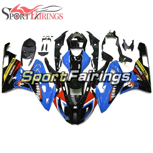 Fairing Kit Fit For BMW S1000RR 2015 2016 - Blue Black