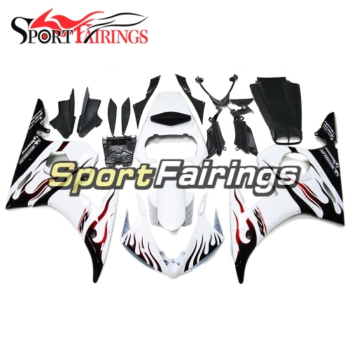 Fairing Kit Fit For Yamaha YZF R6 2005 - White Black Red