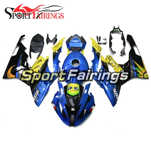 Fairing Kit Fit For BMW S1000RR 2015 2016 - Blue Yellow Shark Attack