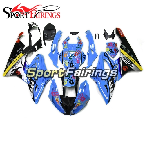 Fairing Kit Fit For BMW S1000RR 2015 2016 - Blue and Colorful Hands