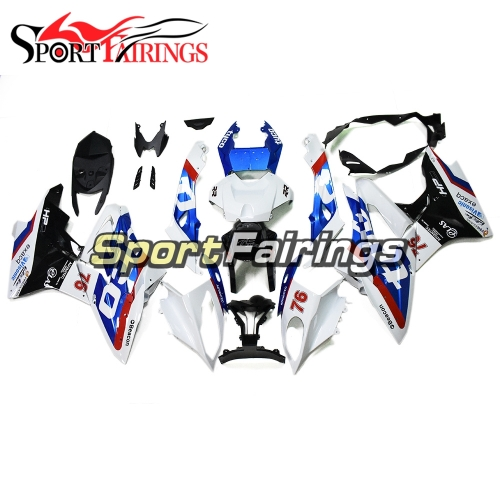 Fairing Kit Fit For BMW S1000RR 2017 2018 - TYCO White Blue
