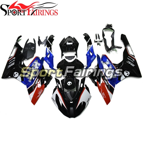 Fairing Kit Fit For BMW S1000RR 2015 2016 - HKT Blue White Black