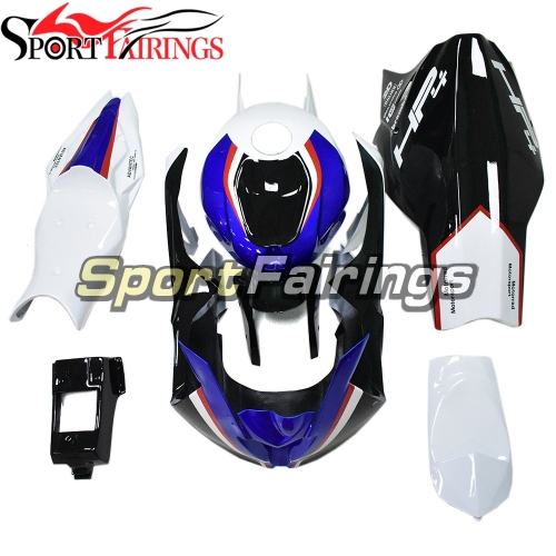 Firberglass Fairing Kit Fit For BMW S1000RR 2017 2018 - Black White Blue