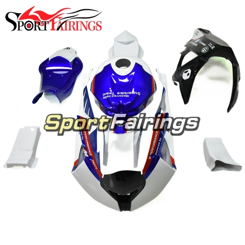 Firberglass Fairing Kit Fit For BMW S1000RR 2011 - 2014 - White Blue Black