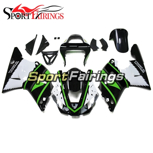 Fairing Kit Fit For Yamaha YZF R1 2000 2001 - White Green Black