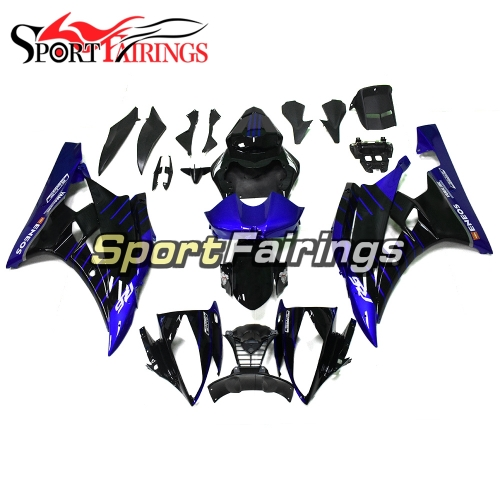 Fairing Kit Fit For Yamaha YZF R6 2006 2007 - Black Blue
