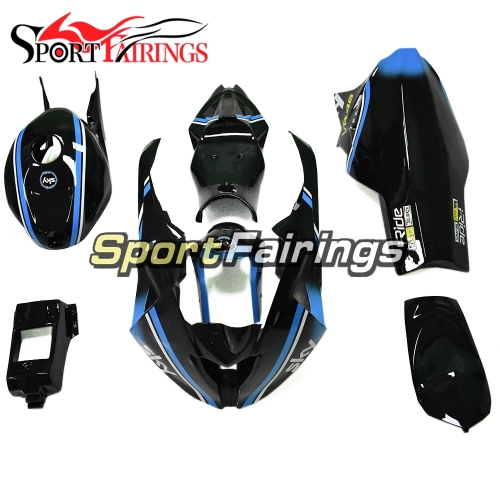 Firberglass Fairing Kit Fit For BMW S1000RR 2015 2016 - Black Sky Blue