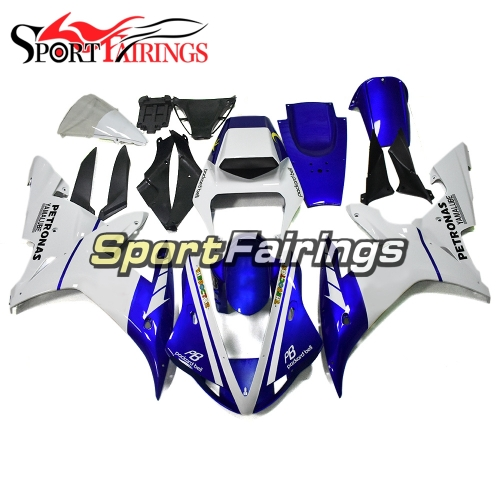 Fairing Kit Fit For Yamaha YZF R1 2002 2003 - Blue White