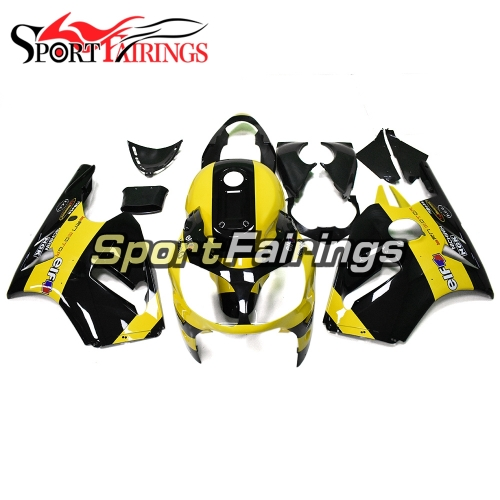Full Fairing Kit Fit For Kawasaki ZX12R ZX-12R 2000 2001 - Elf Gloss Yellow Black