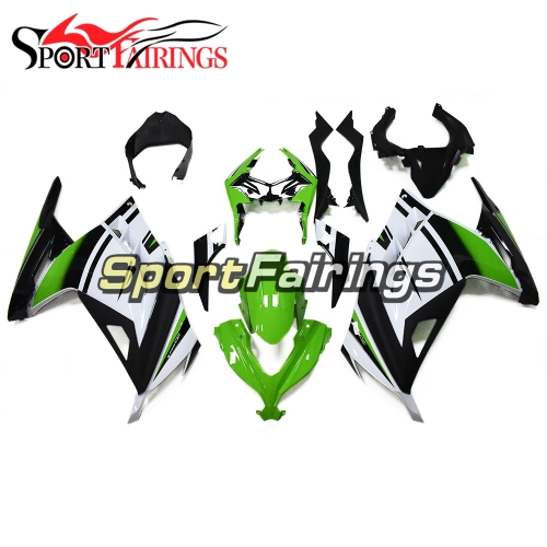 Fairing Kit Fit For Kawasaki EX300R Ninja 300 2013 2014 2015 Ninja300  - Gloss Green Black Cowlings