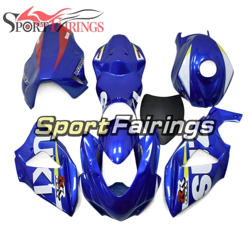 Racing Fiberglass Fairing Kit Fit For Suzuki GSXR1000 K9 2009 - 2016 - Blue White