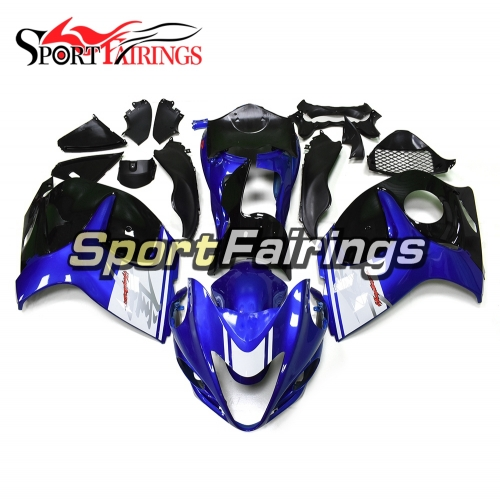 Fairing Kit Fit For Suzuki GSXR1300 Hayabusa 2008 - 2016 - Blue Silver