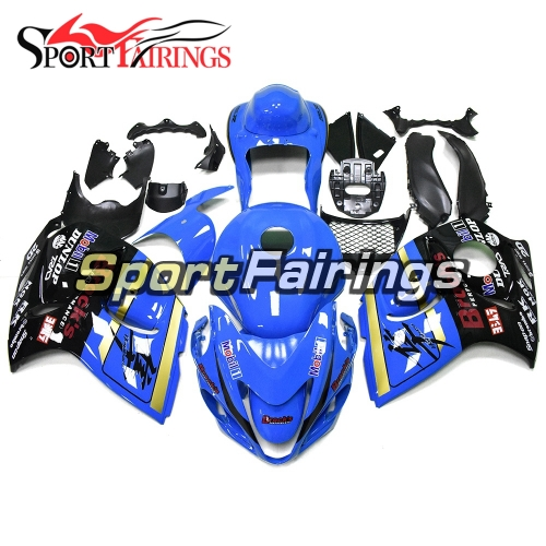 Fairing Kit Fit For Suzuki GSXR1300 Hayabusa 2008 - 2016 -Sky Blue Black