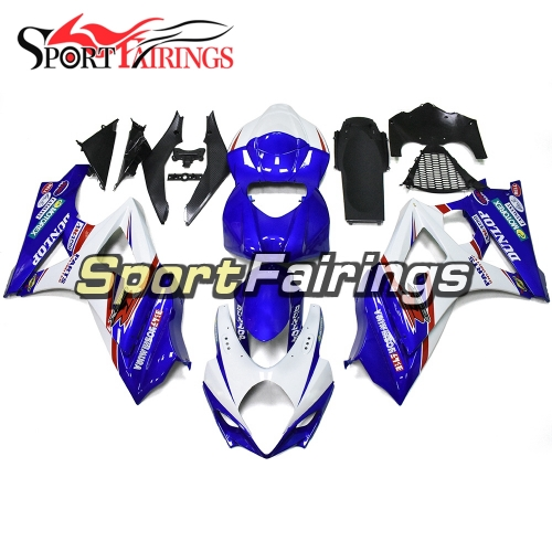 Fairing Kit Fit For Suzuki GSXR1000 K7 2007 - 2008 - Blue White