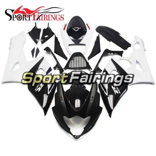 Fairing Kit Fit For Suzuki GSXR1000 K5 2005 - 2006 -White Black