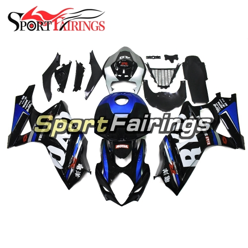 Fairing Kit Fit For Suzuki GSXR1000 K7 2007 - 2008 - Dark Blue Black