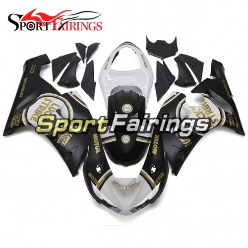 Full Fairing Kit Fit For Kawasaki ZX-6R 2005 - 2006 - Lucky Strike Edition