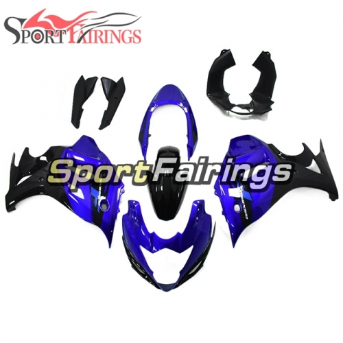 Fairing Kit Fit For Suzuki GSX650F Katana 2008 - 2013 - Black Blue