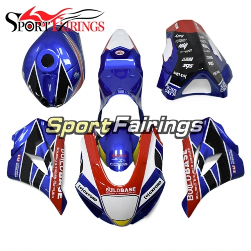 Fiberglass Racing Motorcycle Fairing Kit Fit For Suzuki GSXR1000 2017 2018 2019 New Arrival Cowlings-Blue White Red