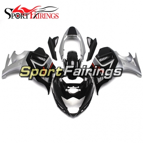 Fairing Kit Fit For Suzuki GSX650F Katana 2008 - 2013 - Black Silver