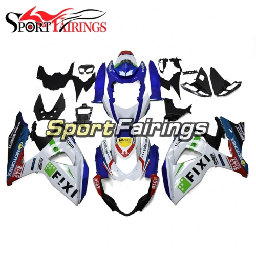 Fairing Kit Fit For Suzuki GSXR1000 K9 2009 - 2016 - Blue White Green