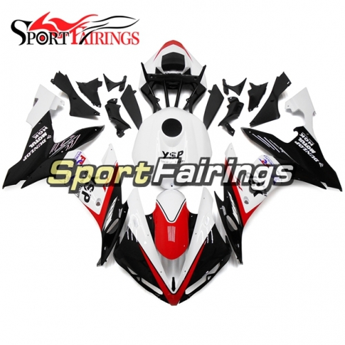 Fairing Kit Fit For Yamaha YZF R1 2004 - 2006 - White Red and Black