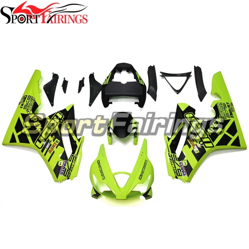 Fairing Kit Fit For Daytona675 2006 - 2008 -Light Green Black