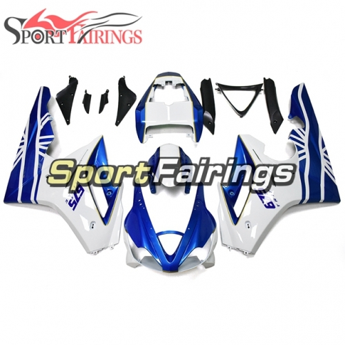 Fairing Kit Fit For Daytona675 2006 - 2008 -White Blue Gold