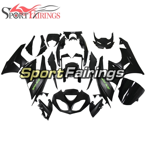 Motorcycle Full Fairing Kit Fit For Kawasaki ZX-6R 2009 - 2010 - Matte Black