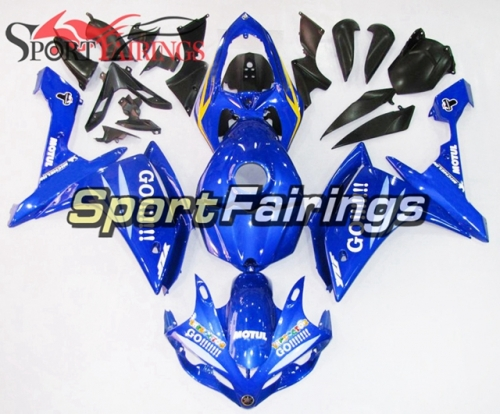 Fairing Kit Fit For Yamaha YZF R1 2007 2008 -Yellow Blue GO!!!