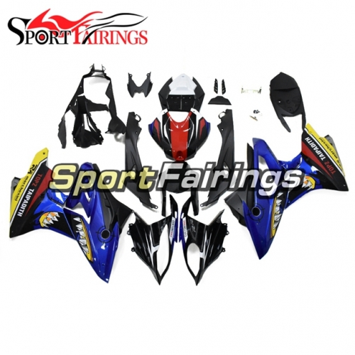 Fairing Kit Fit For BMW S1000RR 2017 2018 - Shark Attack Blue Red and Black