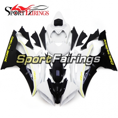Fairing Kit Fit For Yamaha YZF R6 2008 - 2016 - White Black