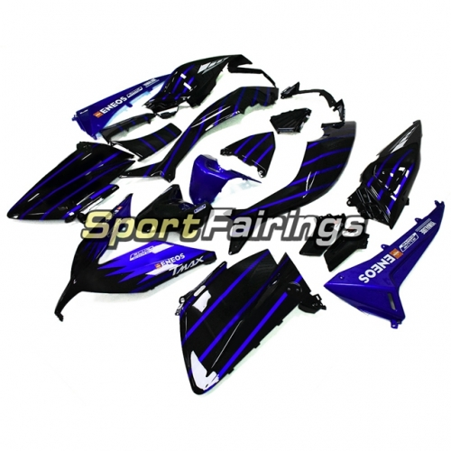 Fairing Kit Fit For Yamaha TMAX530 2015 - Blue Black