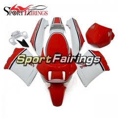 Fairing Kit Fit For Yamaha RZV500 1985 - White with Red