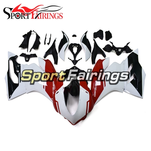 Motorcycle Fairing Kit Fit For Ducati 959 1299 2015 - 2017 - Black White Red