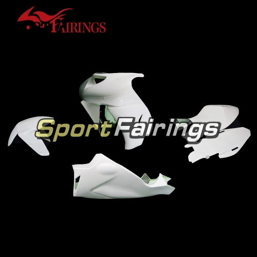 Unpainted Fiberglass Racing Fairing Kit Fit For Kawasaki ZX10R 2006-2007 - Naked Cowlings