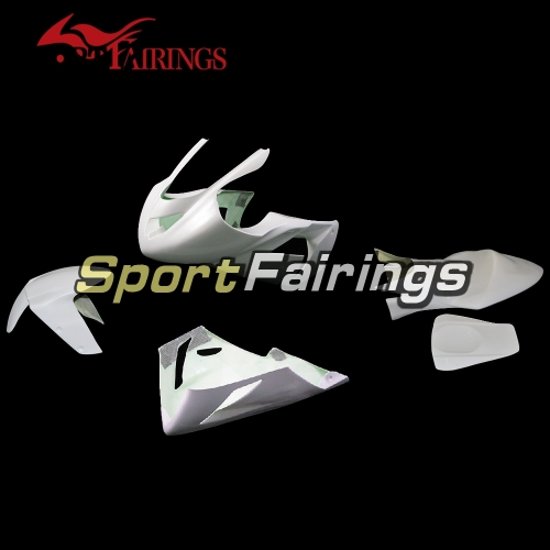 Unpainted Fiberglass Racing Fairing Kit Fit For Kawasaki ZX-10R 2004-2005 - Naked Fairings